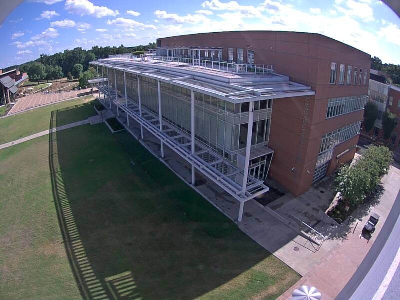 Watt Family Innovation Center Construction Webcam at Clemson University, South Carolina
