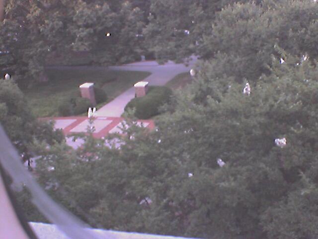 Clemson University Webcam - Walter T. Cox Plaza from Johnstone