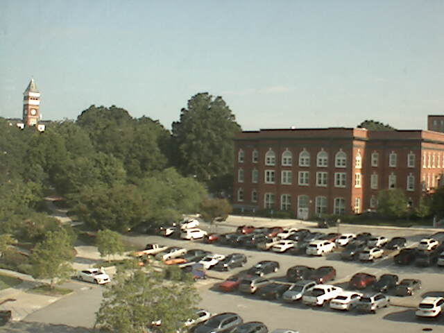Clemson University Webcam - Tillman Hall and Sikes