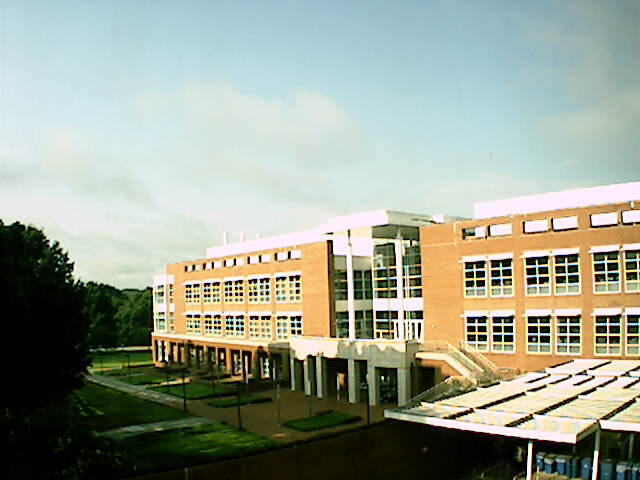 Life Sciences Building Webcam at Clemson University, South Carolina