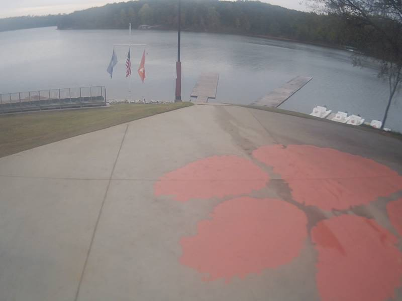 Clemson University Webcam - Lake Hartwell from Rowing Boathouse