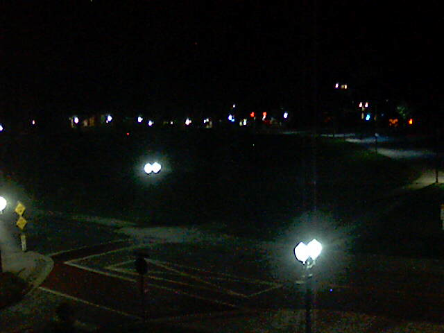 Bowman Field from the President's office Webcam at Clemson University, South Carolina