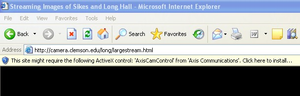 ActiveX Install Instructions
