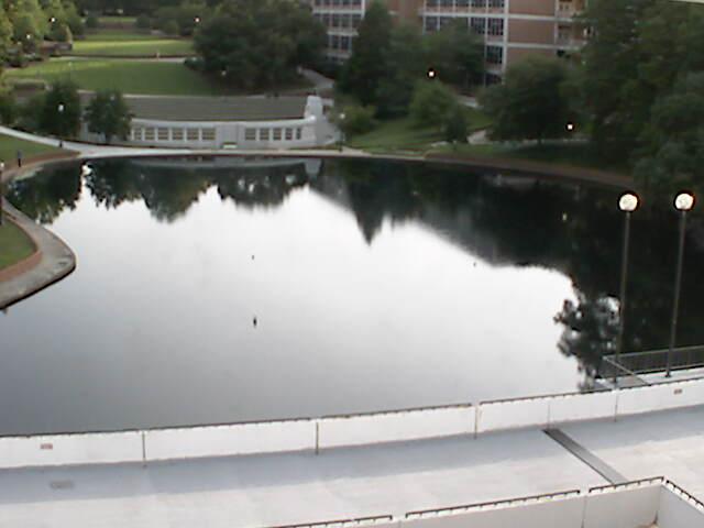 Clemson University Webcam - Library Reflection Pool