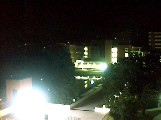 Clemson University Webcam - Library Bridge from Riggs Hall