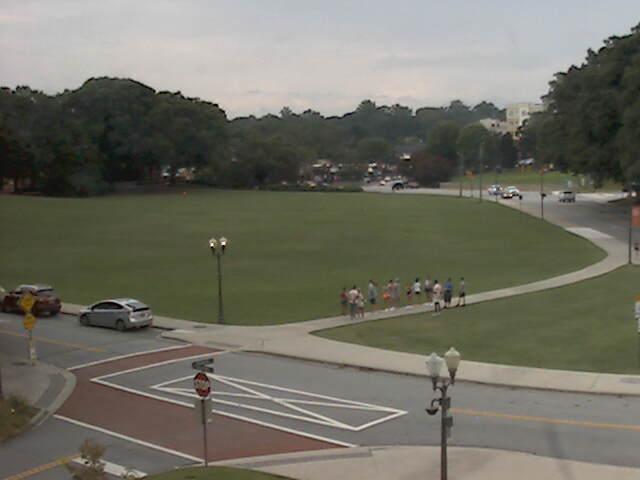 Clemson University Webcam - Bowman Field from the President's office